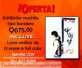 OFERTA / EXHIBIR TIPO MOCHILA