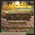 Stamped concretes services (Five star construction)