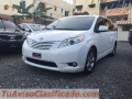 Toyota Sienna L 2015, recién importada