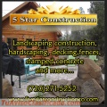 Construction and decking, fences, concrete services.