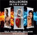 Roll screen publicitarios a1