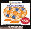 RULETAS DE CANGURO Y RULETAS DE MESA ECONOMICAS
