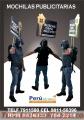 MOCHILAS PUBLICITARIAS LIMA PERU