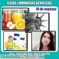 CAJAS DE LUZ ULTRA DELGADAS ACRILICAS LIMA PERU