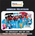 BACKING PUBLICITARIO LIMA PERU
