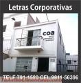 LETRAS CORPORATIVAS FULL PUBLICIDAD LIMA VENTAS