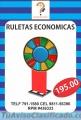 RULETAS PUBLICITARIAS ECONOMICAS LIMA PERU VENTAS