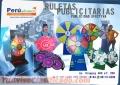 RULETAS PUBLICITARIA DE MESA PLEGABLE
