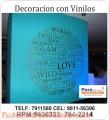 DECORACION DE VINIL ADHESIVO