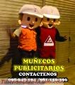 MUÑECOS PUBLICITARIOS: