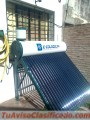 Termotanque solar mas kit electrico