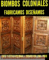 TALLADOS COLONIALES PERUANOS EXCLUSIVOS