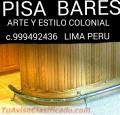 BARGUEÑOS Y MUEBLES BARES CLÁSICOS Y MODERNOS Lima  Perú