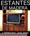 REPOSTEROS CLASICOS EXCLUSIVOS EN MADERA  LIMA PERU