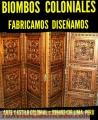 BALCONES COLONIALES FABRICACIÓN EXCLUSIVA  LIMA PERÚ