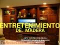 TV Entretenimiento MODERNOS y CLÁSICOS FABRICACIÓN A PEDIDO ESPECIAL