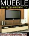 MUEBLES DE ENTRETENIMIENTO ESTANTES TV  EXCLUSIVOS