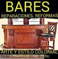 BARES MODERNOS FABRICÓ DISEÑO MUEBLES AL DETALLE Y MEDIDA LIMA PERÚ
