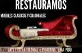 SILLONES  LUIS XV  Clásicos COLONIALES DORADOS RESTAURO ANTIGÜEDADES