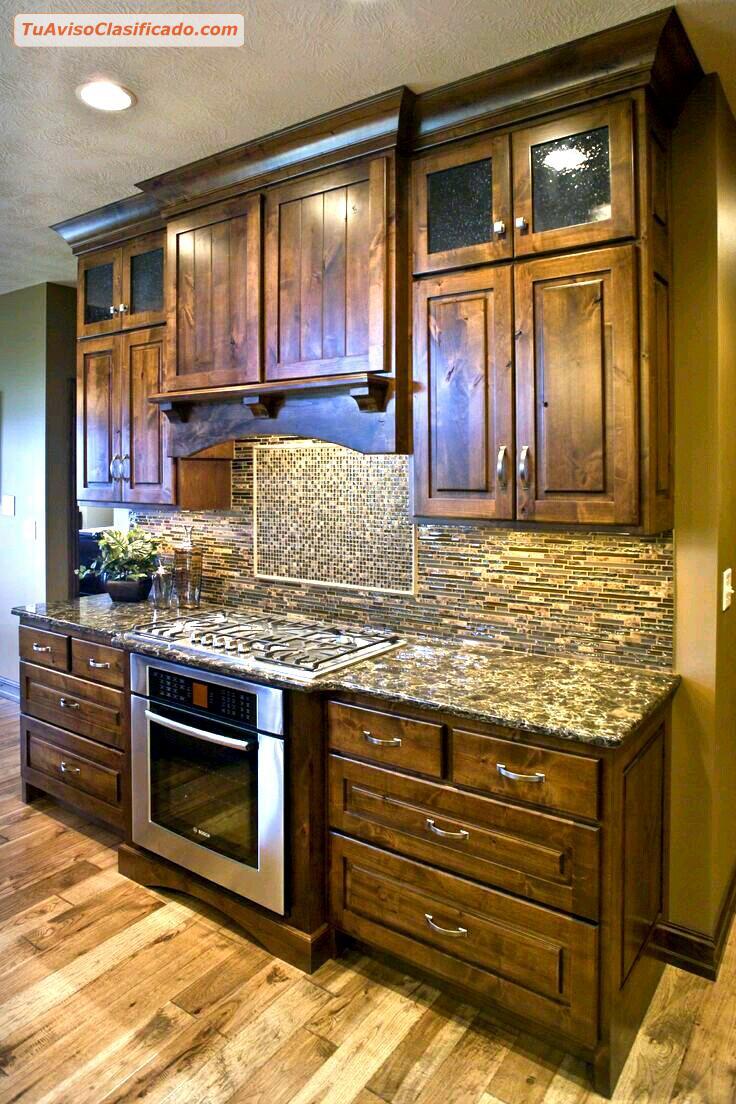 Muebles Para cocinas estilo Clásicos de madera para pedidos especi...