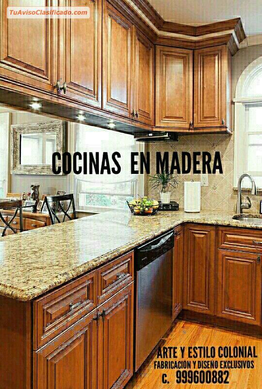 DISEÑO Y FABRICACION MUEBLES PARA COCINAS Y CLOSETS - Mobiliario y...