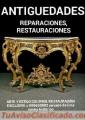 Antigüedades reparación y mantenimiento exclusivo