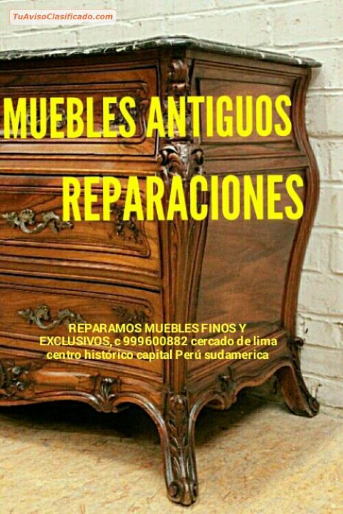 Laqueados white wash envejecido antig os arte y - Reparacion muebles ...