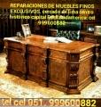 Muebles antiguos reparación y RESTAURACIÓNES MANTENIMIENTO DORADOS laqueado Lima Perú SUDA