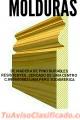 Molduras en madera RESISTENTES restaurables ,. Y durables