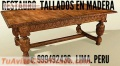 Bargueños ,Tallador DISEÑADOR fabricante MUEBLES Coloniales PERUANOS