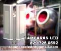 Lamparas LED para iluminacion de naves industriales y fabricas
