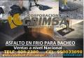 PAVIMENTACION , JUNTAS DE DILATACION , PARCHES , BACHEOS, ASFALTO RC - 250 LIQUIDO