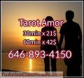 Tarot del Amor 30 min x 21$ 646-893-4150