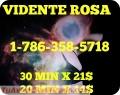 Rosa clarividente tarotista especialista en el amor♥