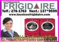 «ECONOMIC!!»2761763« Frigidaire »servicio tecnico de Lavadoras«lavaplatos»San isidro