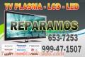 SERVICIO TÉCNICO, REPARACIÓN DE TELEVISOR MODERNO PLASMA LCD LED SMART TV 3D