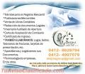 Asesoria legal, redacción de documentos mercantilles, Apostilla y legalizaciones en Bna
