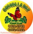 Cabañas La Paz en Costa Rica Tel. 6172-9922