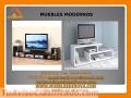Muebles Modernos: Modulares de TV, Mesitas de Noche, Libreras, Escritorios, Cocinas.