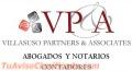 VILLASUSO PARTNERS, ABOGADOS - NOTARIOS - CONTADORES