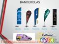 BANDEROLAS, BANNER, RULETAS  Y MUCHOS PRODUCTOS MAS