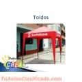 TOLDOS, BANDERINES, BANDEROLAS, INSTALACIONES DE ADHESIVOS MESH Y MAS