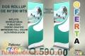 OFERTA DE ROLLUP DE 80*200 CON IMPRESION A FULL COLOR