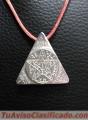 Talisman Triangulo Sagrado Plata de Ley 925  Mls