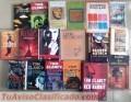 Se venden 38 novelas, nuevas y usadas. Tom Clancy, J.J. Benitez, Stephen King...