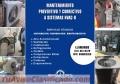 Servicio de mantenimiento de aire acondicionado, extractores de aire y ductos