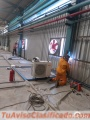 Servicio de fabricación techos metálicos soldadura estructura metálica lima