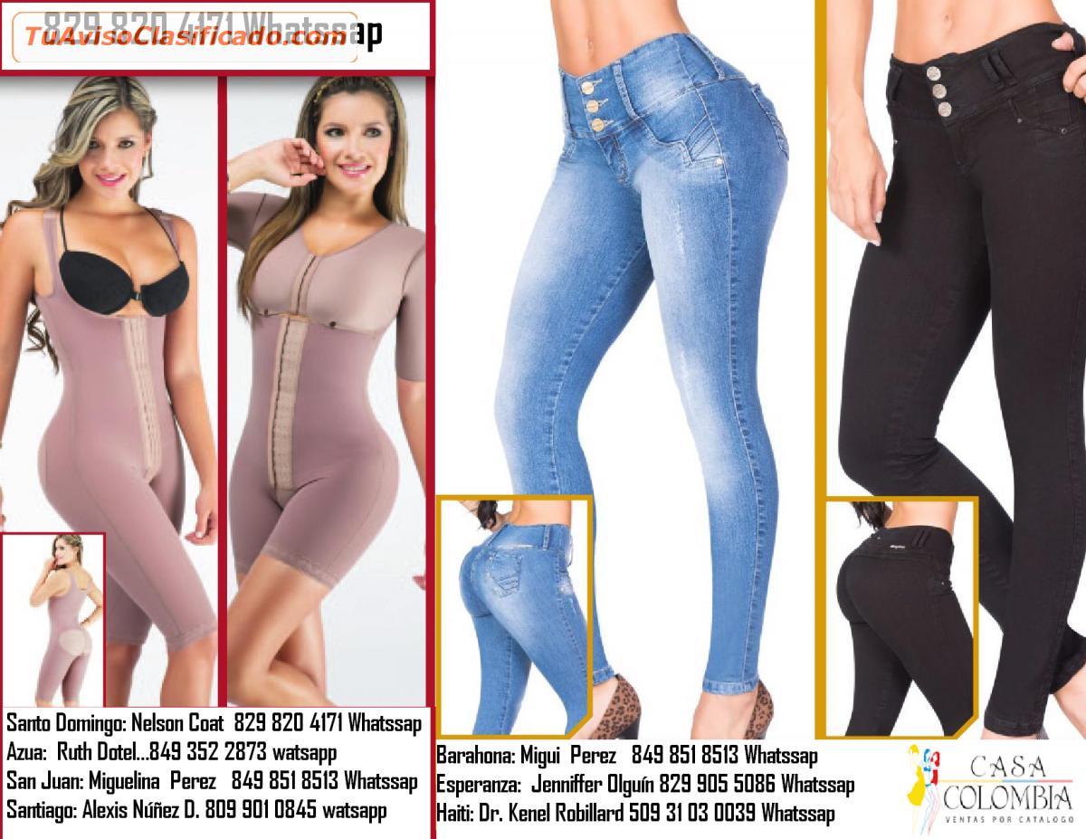 69346b6fc4 Venda Pantalones y fajas Colombianas por Catálogo - Ropa