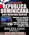 El CD con GPS Republica Dominicana para Autoradio Android