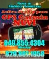 Activación chip Garmin NUVI con mapa Republica Dominicana, todos los modelos!